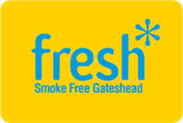 Fresh Smokefree Gateshead logo