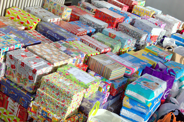 Christmas Shoe Box Appeal.Calls To Support Shoe Box Appeal Gateshead Council