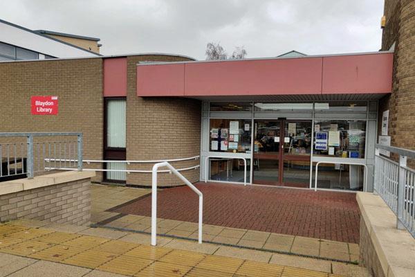Blaydon Library exterior