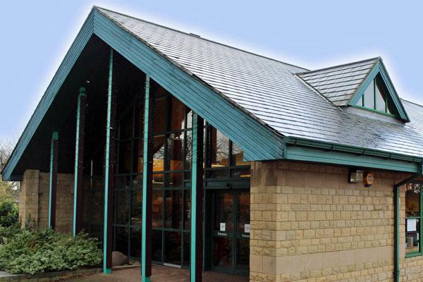 Crawcrook Library exterior