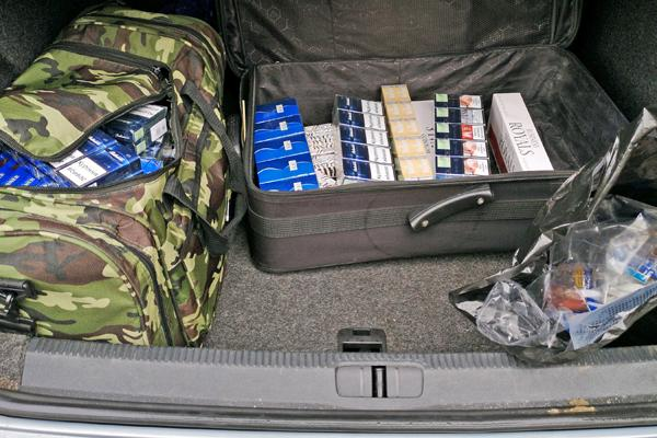 Cigs seized in joint raid