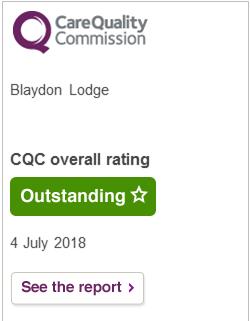 CQC rating - Blaydon