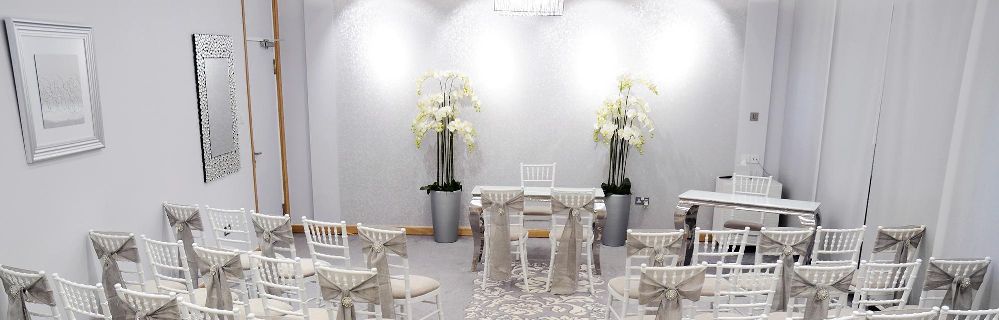 Tyne Suite wedding ceremony venue, Gateshead