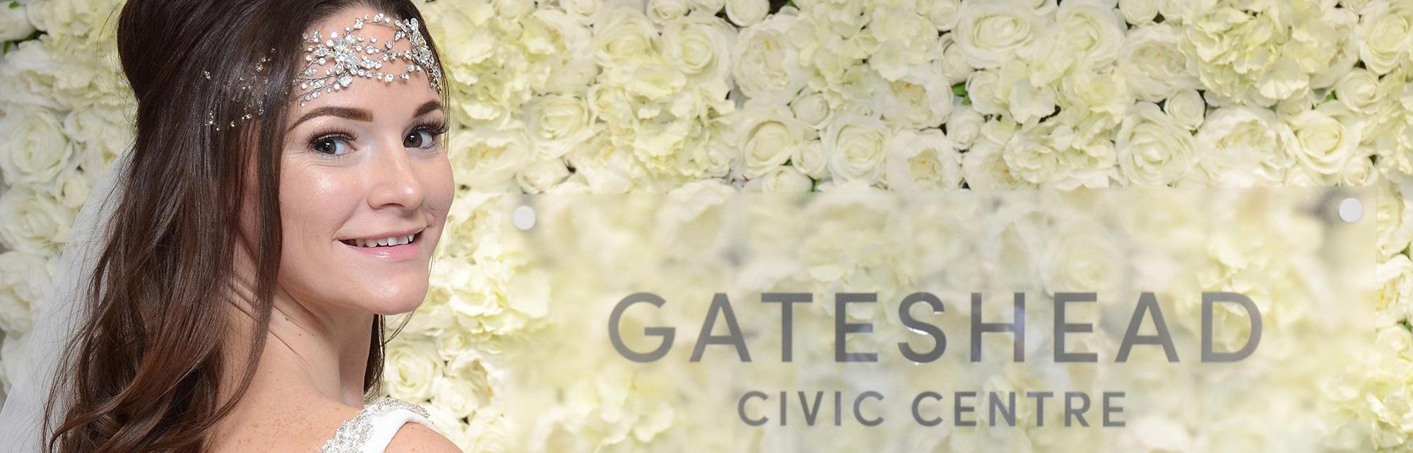 Gateshead Civic Centre wedding venue header
