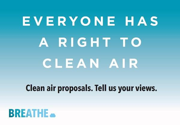 Clean air consultation