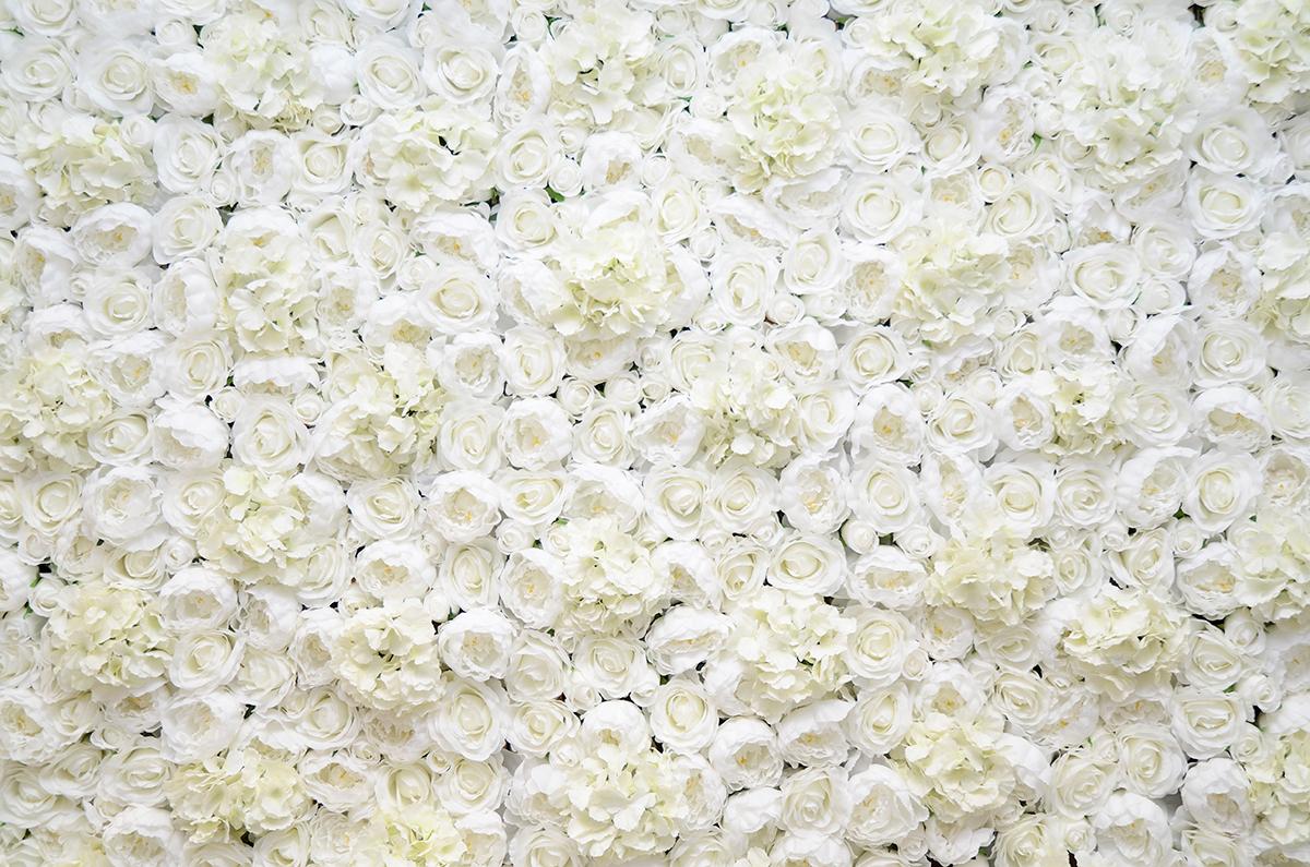 Gateshead wedding flower wall 01