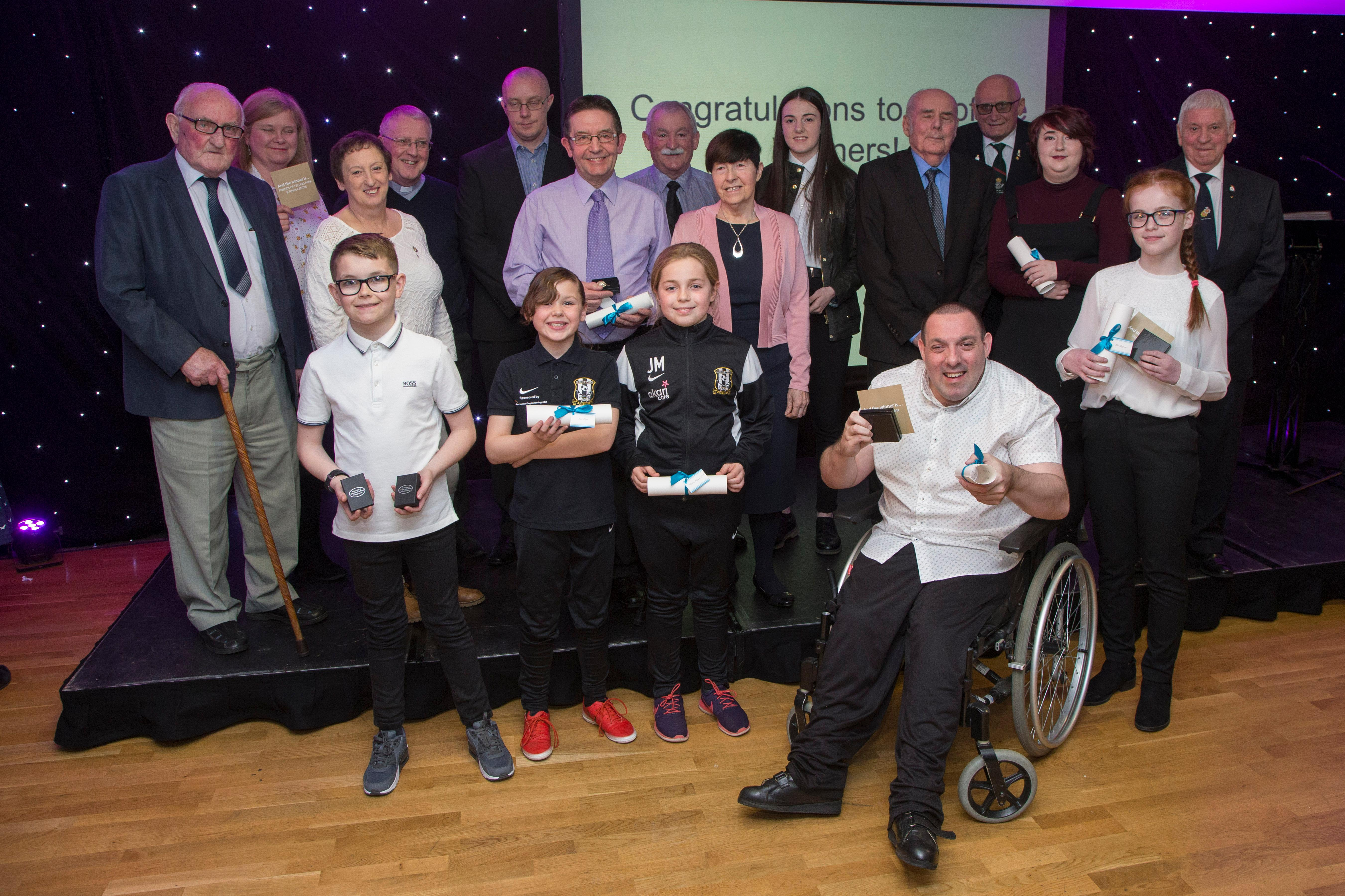 2018 Gateshead Awards winners