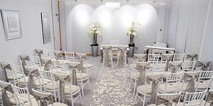 Tyne Suite wedding ceremony venue, Gateshead