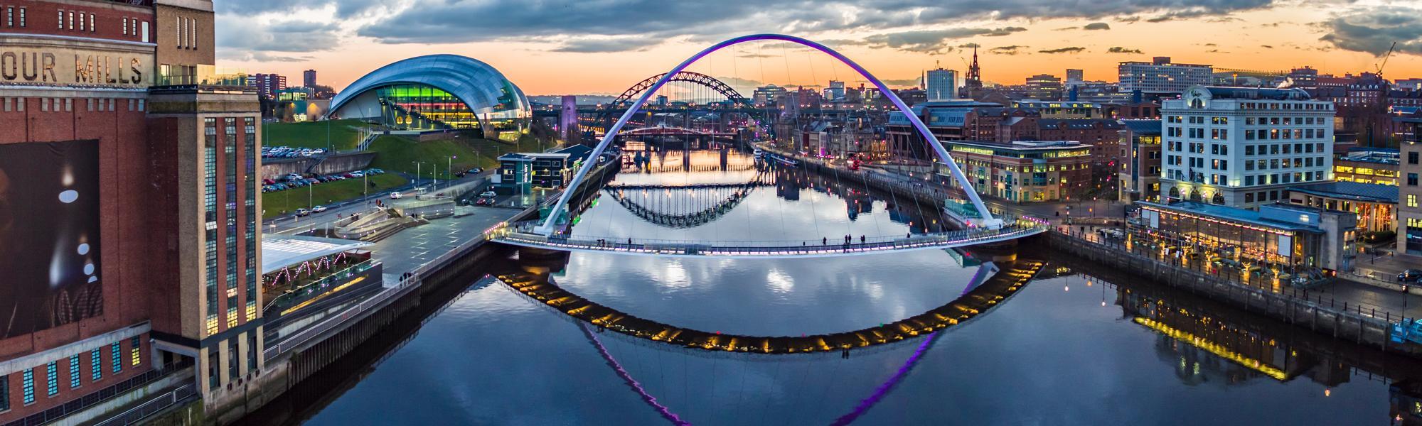 Gateshead Newcastle Quayside venue hire