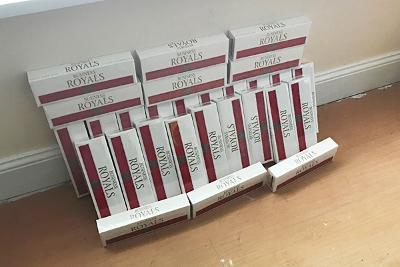 Tobacco seized in raid