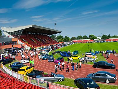 Gateshead International Stadium tile