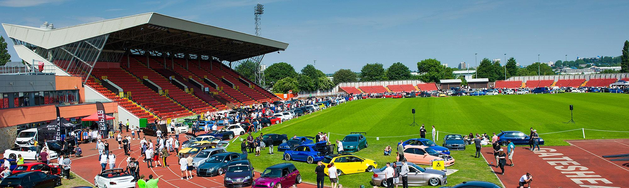 Gateshead International Stadium header