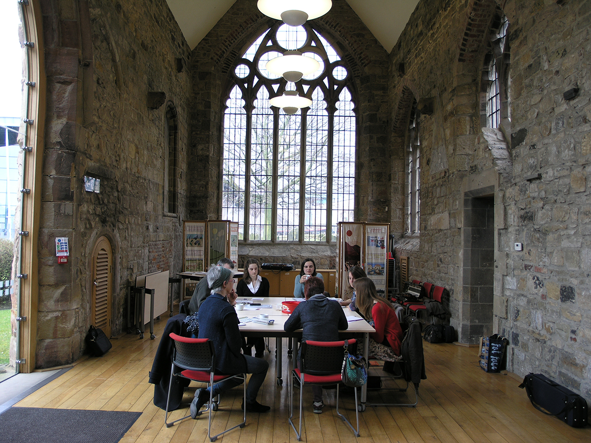 Conference venue, St Mary's Heritage Centre, Gateshead
