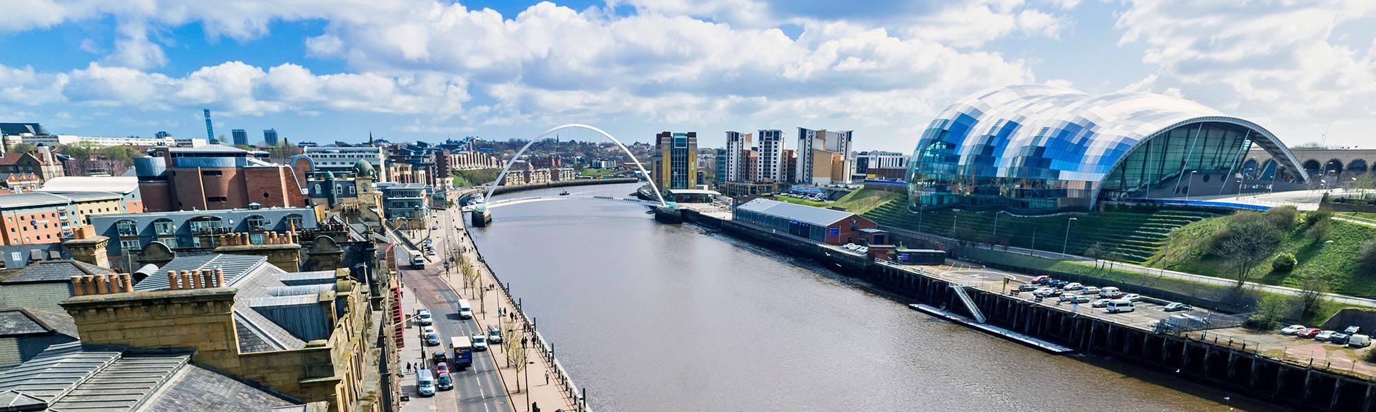 Gateshead quayside header