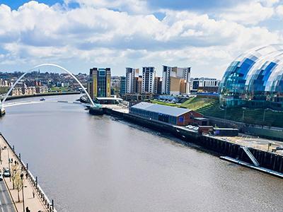 Gateshead Quayside tile