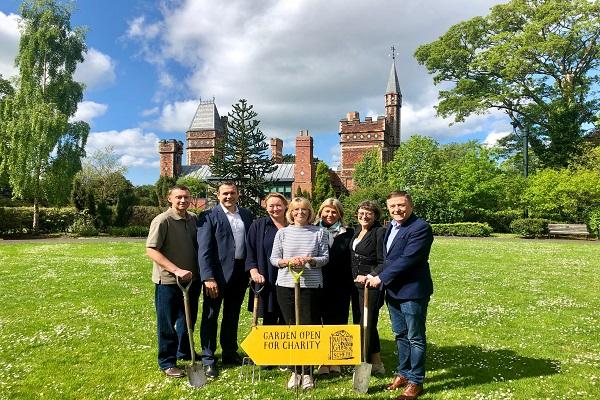 Swedish garden set for Saltwell park