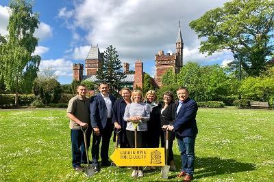 Swedish garden set for Saltwell park