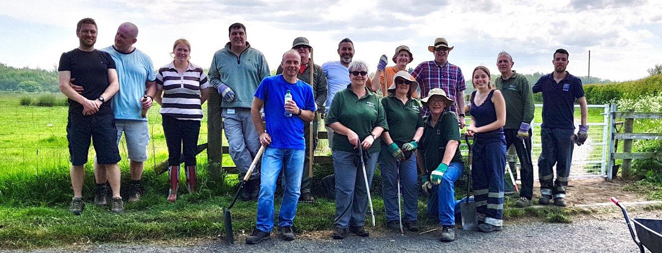 Neighbourhood Management Team volunteers