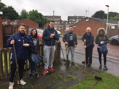 Leeds Building Society volunteers