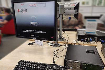 Computer in Central Info Services