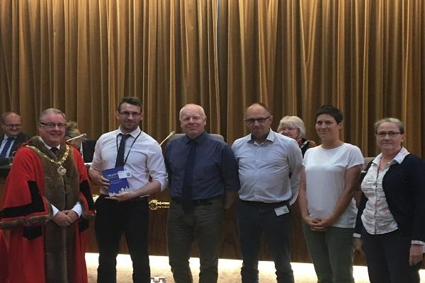 Council team win planning award