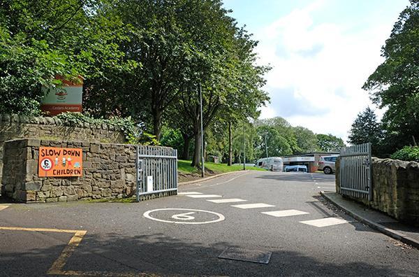 Outside of school gates