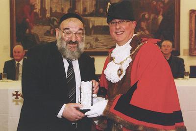 Freeman ceremony photo