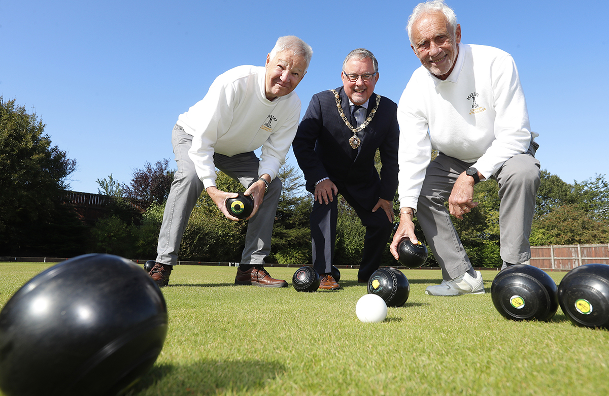 The Mayor with Alan Thompson and Dennis Billany