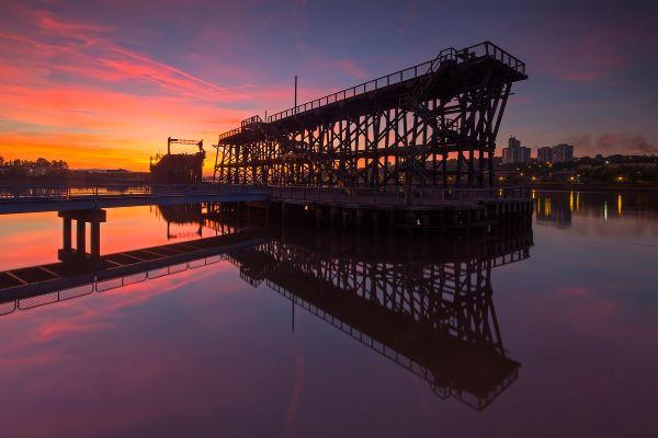Dunston Staiths by Graeme Peacock