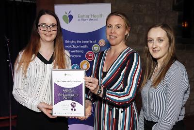 Better Health at Work Award Hilton