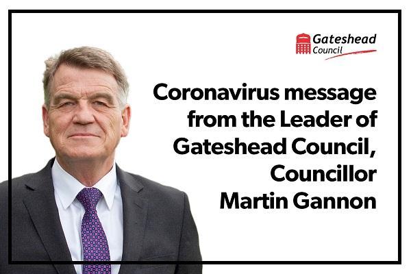 Martin Gannon re Coronavirus