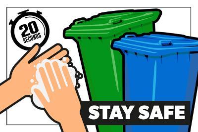 Coronavirus - handling household waste