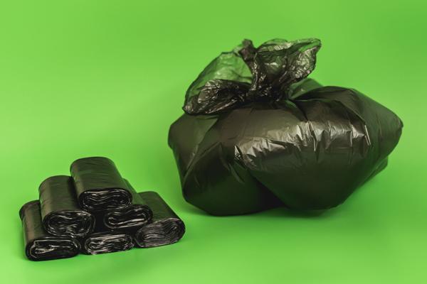 Bagged rubbish