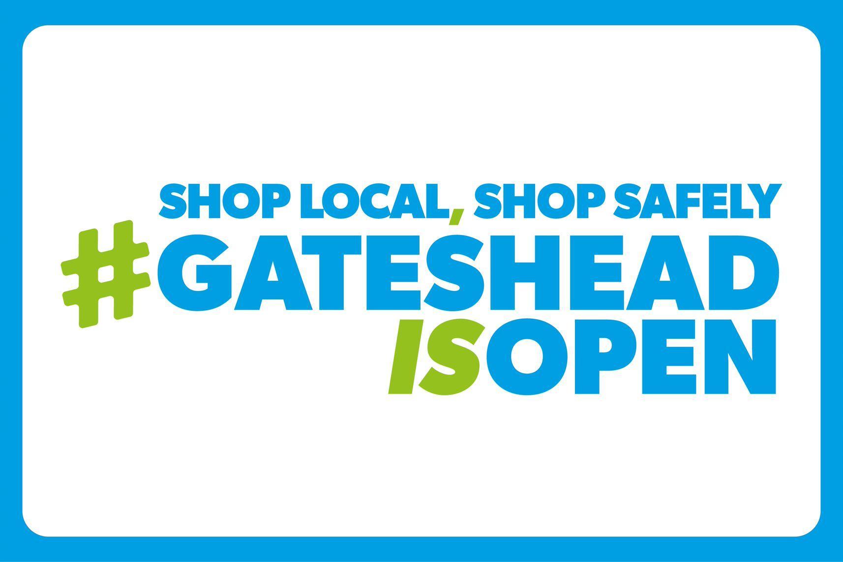 Shopping local in Gateshead