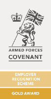 Gold award for Armed Forces Community
