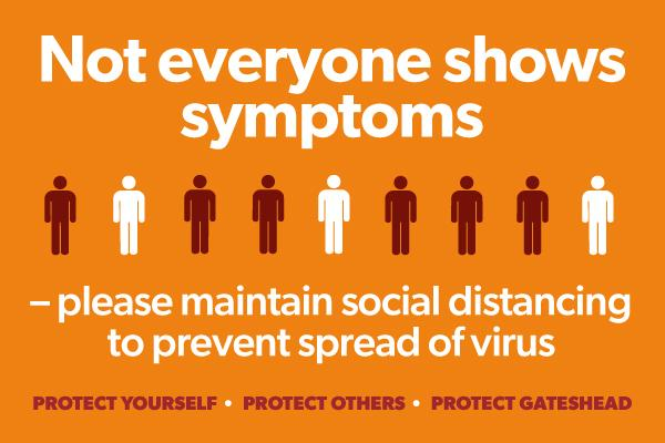 coronavirus no symptoms