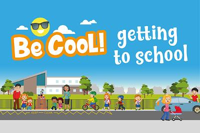 Be cool getting to school