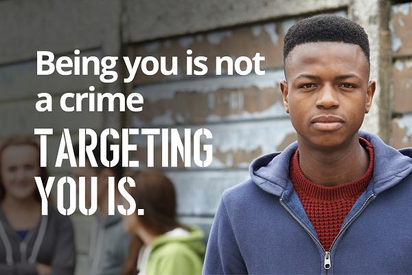 Hate crime target
