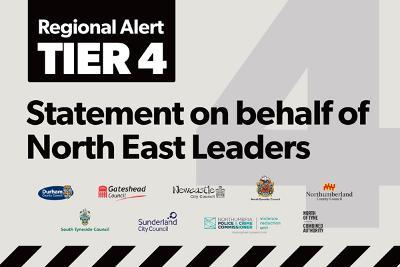 Leaders statement Tier 4