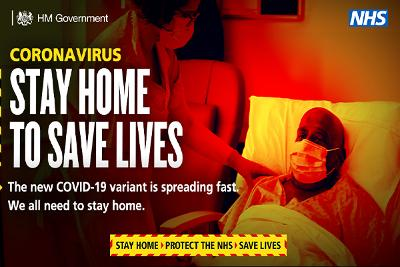 Stay Home Save Lives New