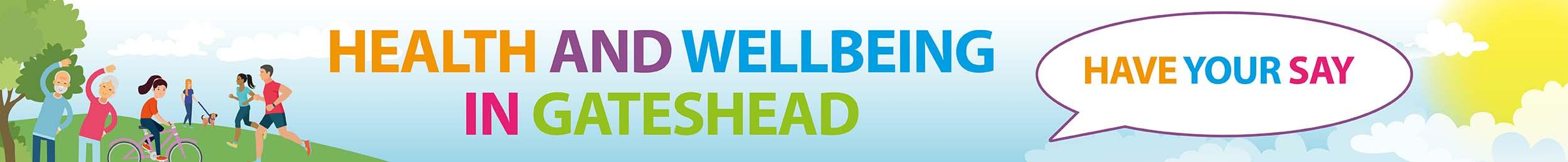 Health and wellbeing consultation header
