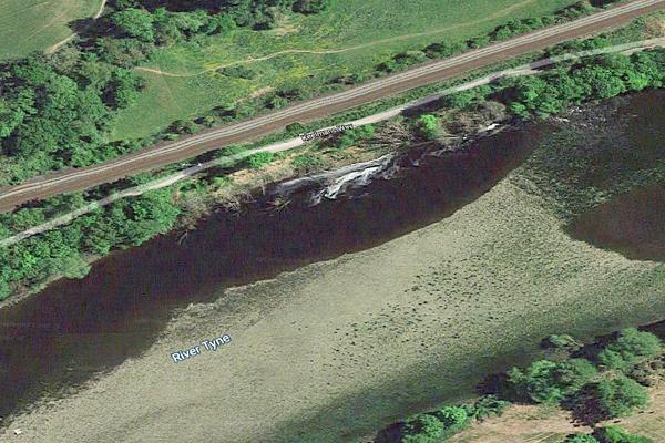 ariel view of riverside Google Maps