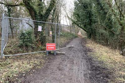 Temp barrier