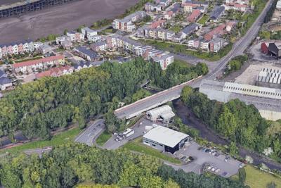 aerial view Google Earth