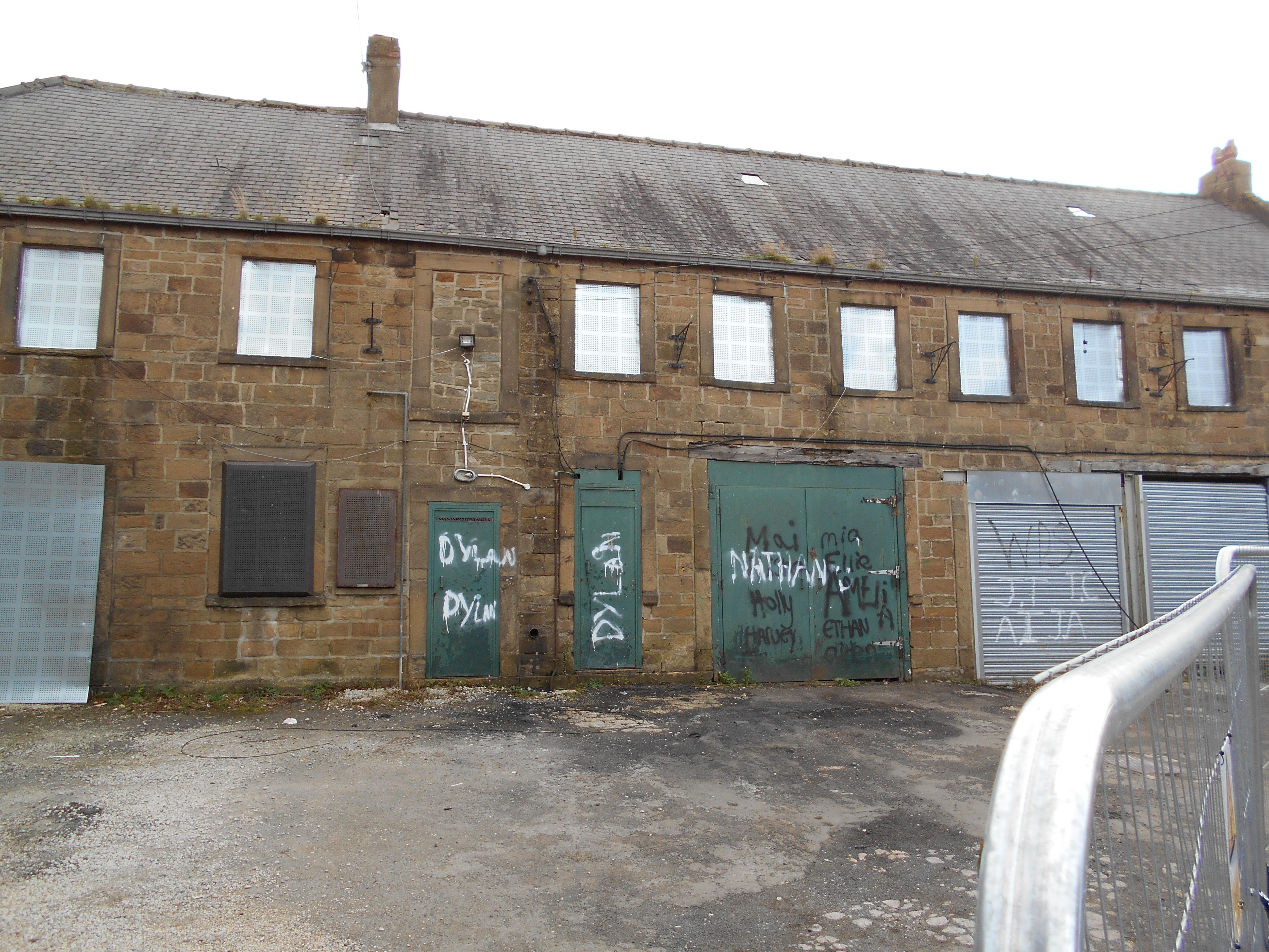 Former stable block and residential dwelling