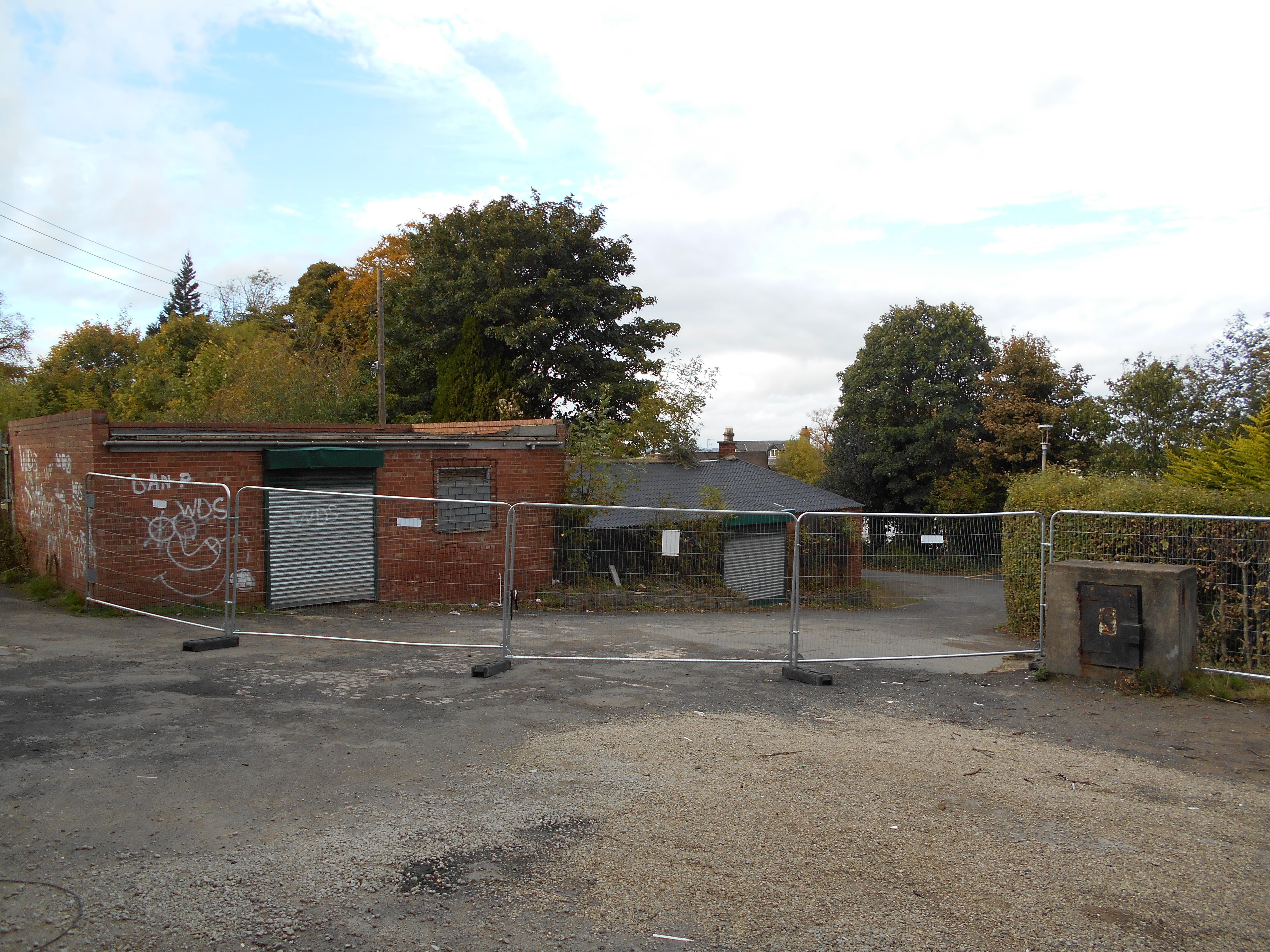 Former aviary block
