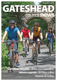 Council News Summer 2021 front cover