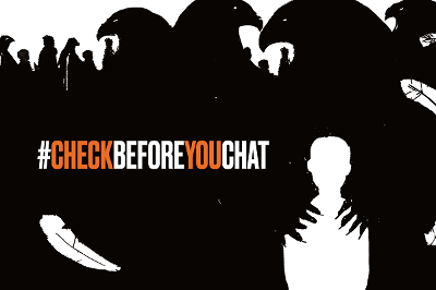 Check before you chat