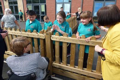 Gibside school official opening
