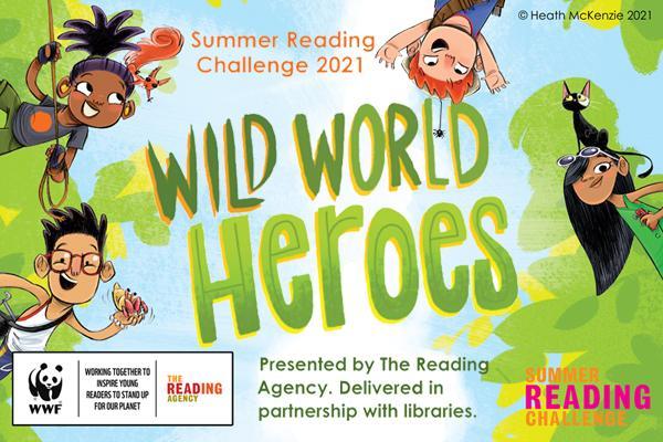 Summer reading challenge 2021